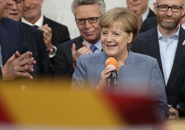 Angela Merkel © AP
