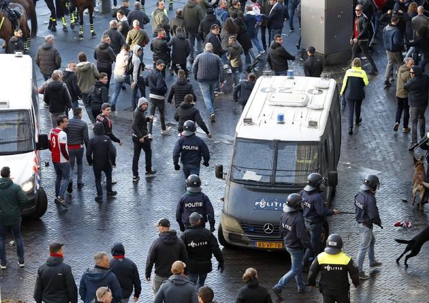 Ajax-Juventus (ANSA)