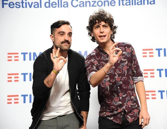 SanremoCasa Surace Riccardo Betteghella e Bruno Galasso  People  Ansait