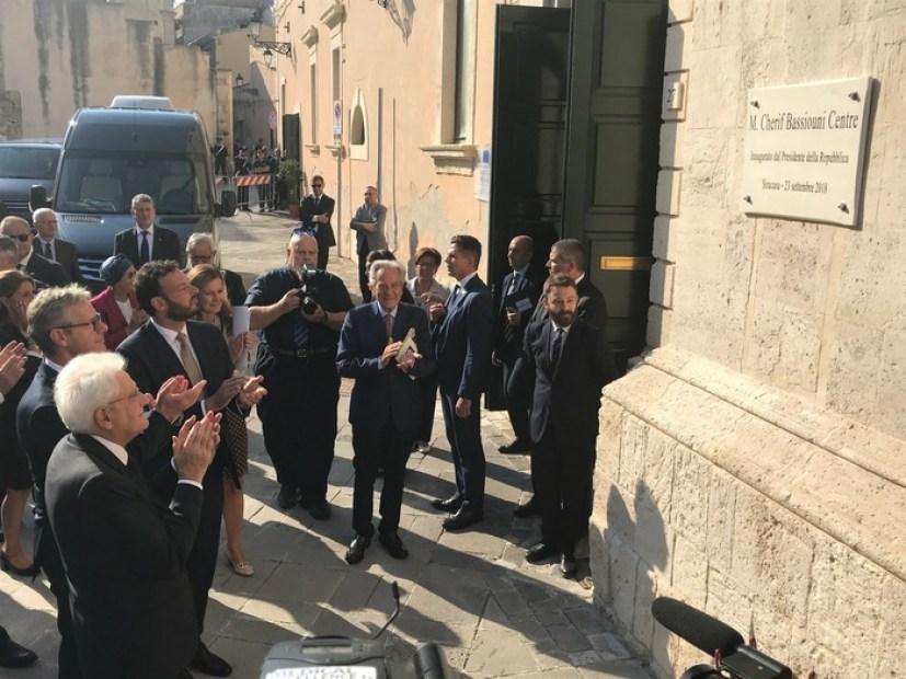 Sede SII intitolata a prof. Bassiouni - Sicilia - ANSA.it