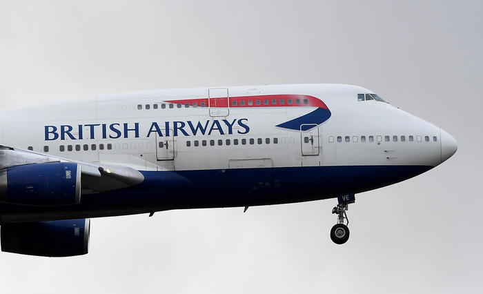 British Airways, stop voli da e per Cina