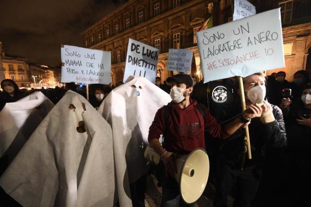 Proteste a Napoli