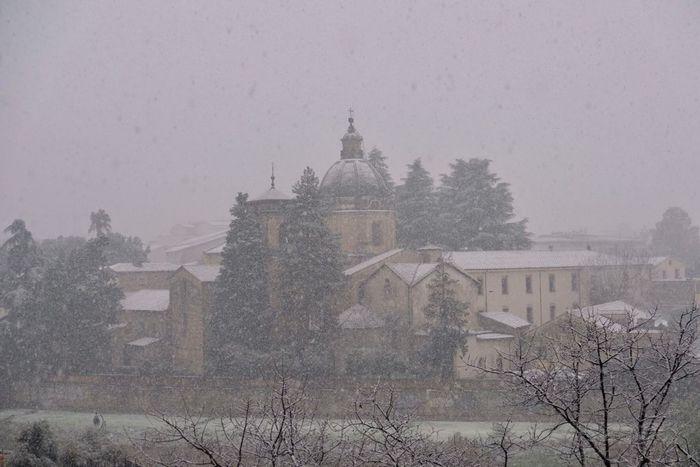 Maltempo: freddo e neve a bassa quota nel cosentino