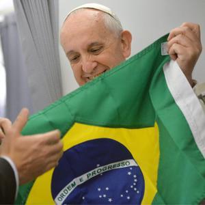 Papa Francesco in Brasile