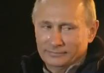 La commozione di Putin