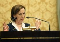 Il ministro del lavoro, Elsa Fornero