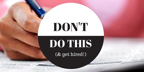 Top  Common Resume Mistakes You Should Never Make