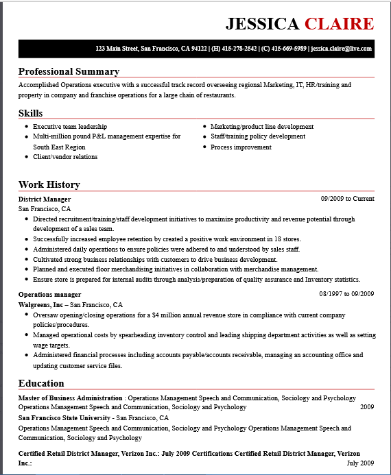 Ansa Careers  What Makes A Great Resume