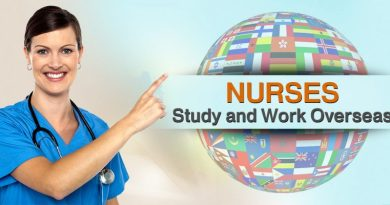 Nursing overseas