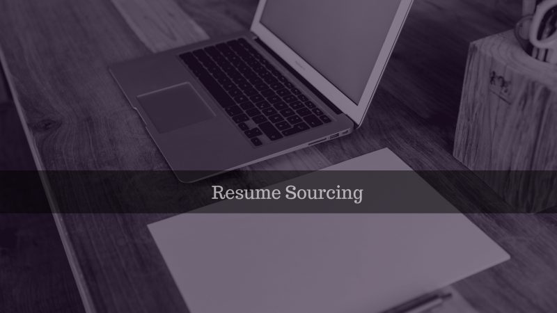 Resume Sourcing