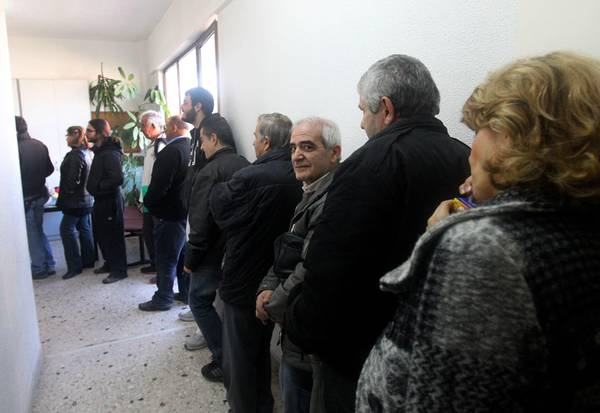 Long lines of people were forming in front of local tax  to unregister their cars