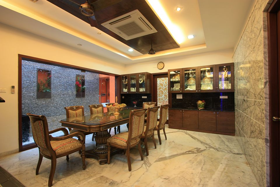The Corner House Palawakkam Chennai is an unique house