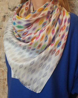 "Stola Cashmere ""Abstraction"""