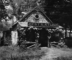 Best Studio, Circa 1910 in Yosemite Valley