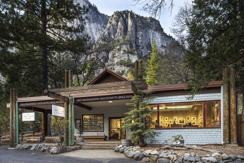 Ansel Adams Gallery Yosemite