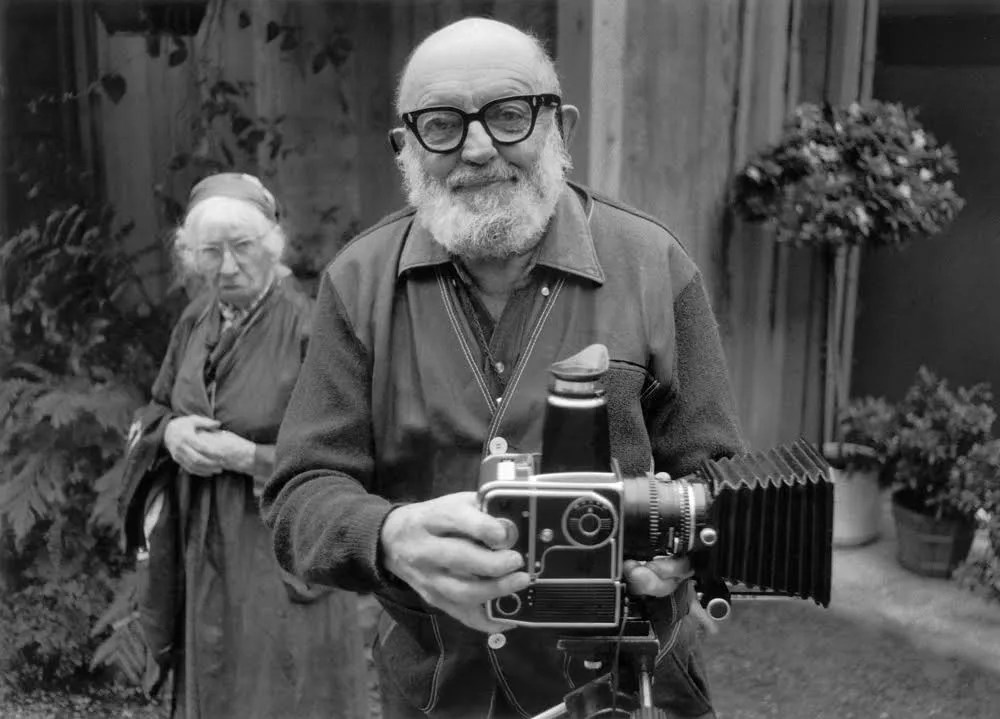 Ansel Adams and Imogen Cunningham