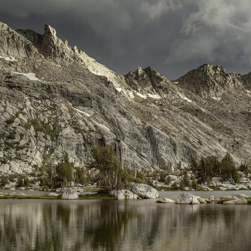 Storm Light Upper Young Lake — Photograph by Mike Reeves