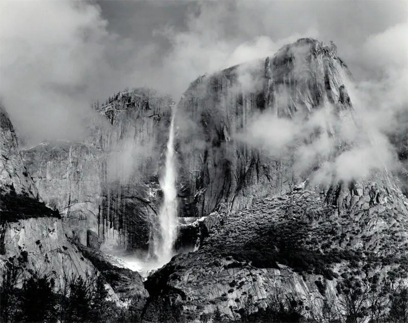 Bob Kolbrener - Upper Yosemite Falls, 2003 - Original Photograph for Sale