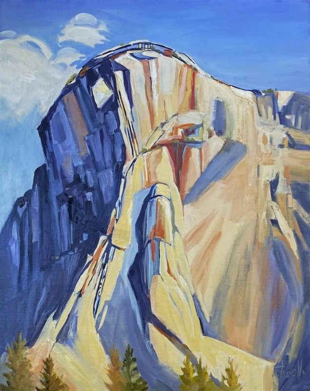 Glacial Conclusions - New Paintings by Penny Otwell