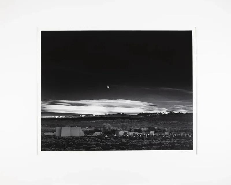 Moonrise, Hernandez - Collecting Ansel Adams Photography