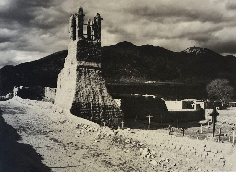Ruins of Old Church by Ansel Adams
