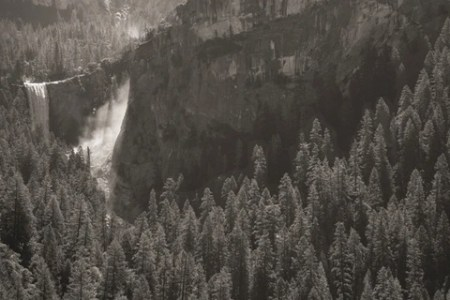 Vernal Fall from Sierra Point by Mark Citret