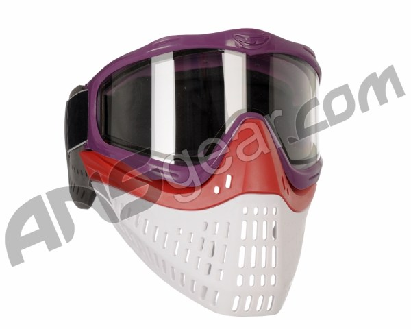 Jt Proflex Thermal Paintball Mask With Clear Lens - Purple