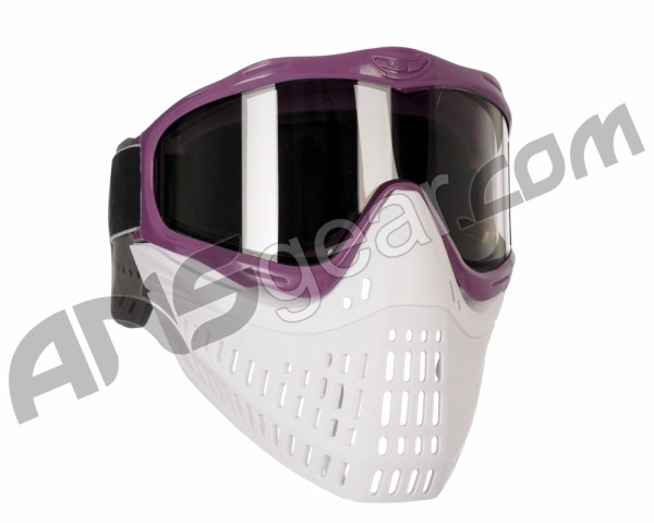 Jt Proflex Thermal Paintball Mask With Smoke Lens - Purple