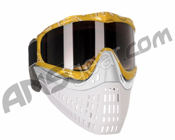 Jt Proflex Thermal Paintball Mask With Smoke Lens - Yellow