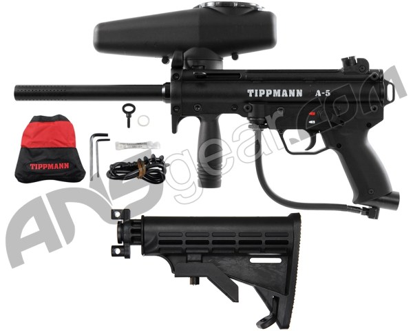 Tippmann A5 Rt- Warrior Collapsible Stock