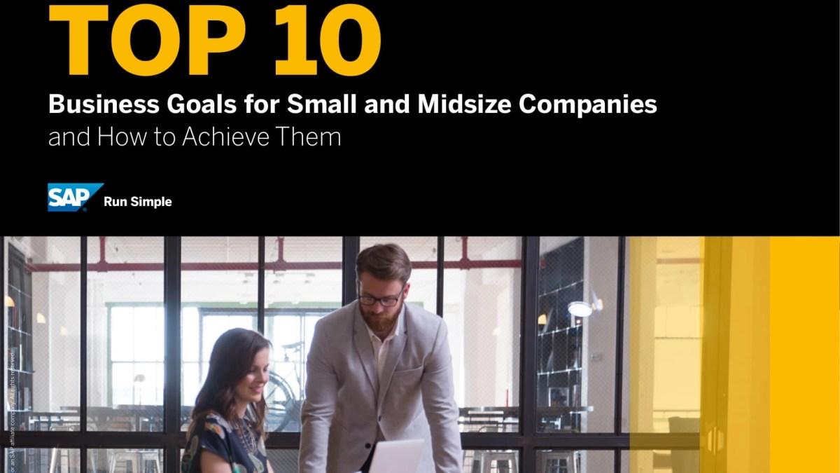 Top 10 Business Goals