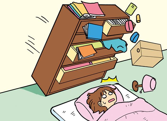 家具類の転倒・落下