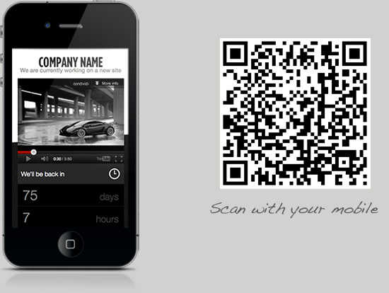 Responsive video site launch coming soon - 1