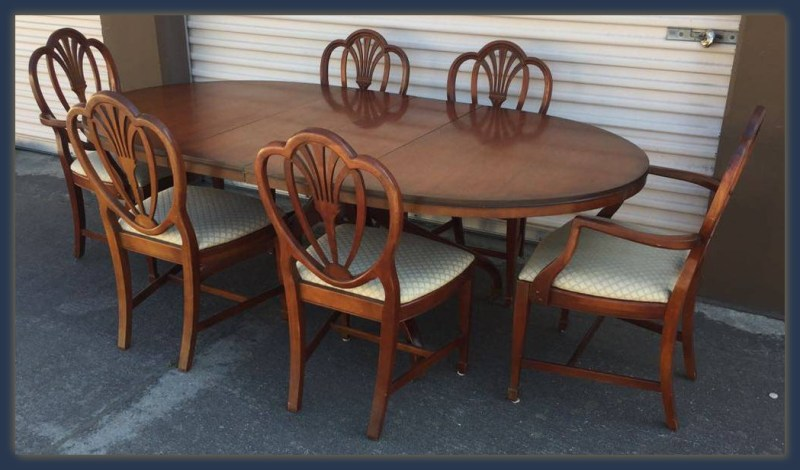 Vintage Dining Set San Mateo Drexel Made in USA