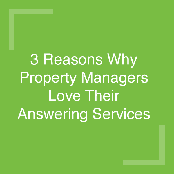Answering Service for Property Managers