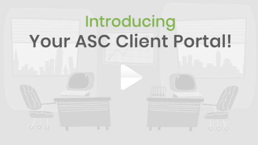 Your ASC Online Portal!