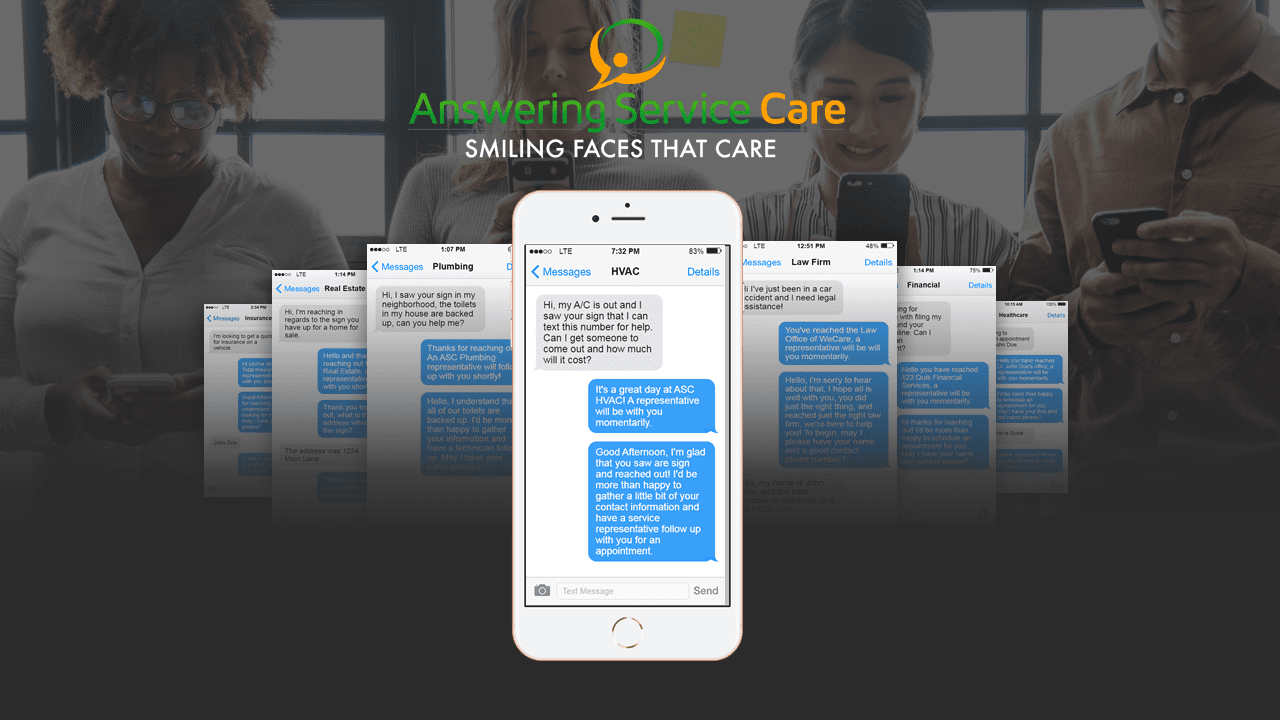 Answering Service Care - Care2Text