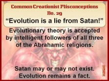 Creationist Misconceptions No. 29 - Satans Lie