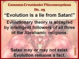 Creationist Misconceptions No. 29 - Satans Lie