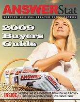 The Dec 2008/Jan 2009 issue of AnswerStat magazine