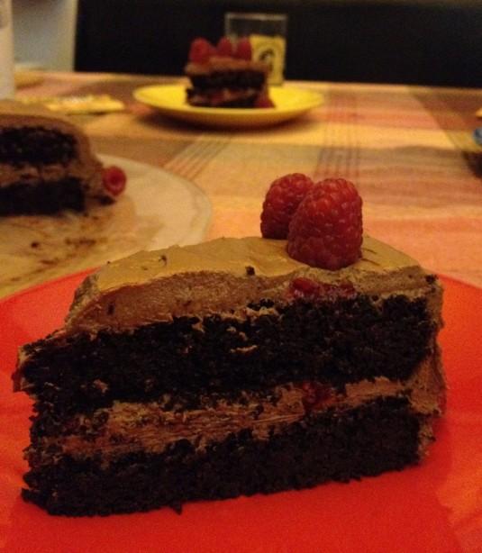 paleo diet challenge day 26 quinoa chocolate cake
