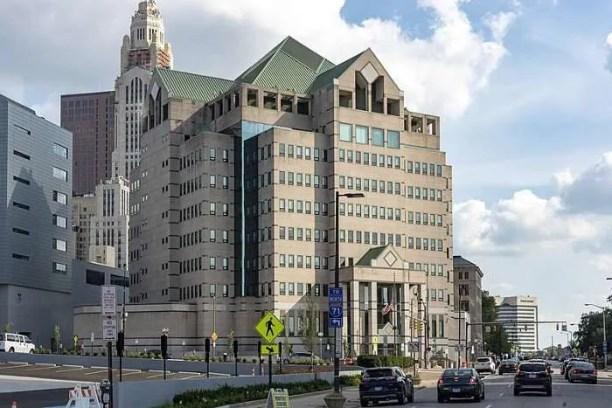 Columbus, Ohio police headquarters   Image via Creative Commons