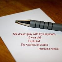 A nano story by Prathiusha Poduval