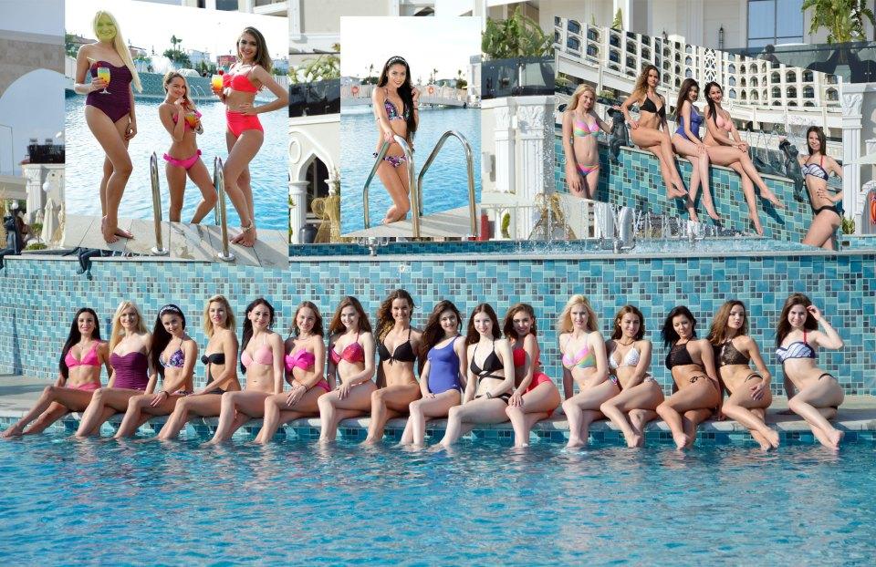 Miss Eurassia güzelleri 2017