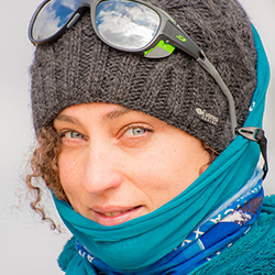 Ana Carla Martinez, Cruise Manager and Photographer, in Antarctica21's Expedition Team