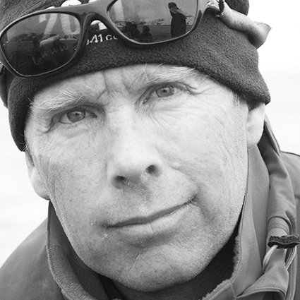 Dave Ritchie, Kayak Guide, in Antractica21's Expedition Team