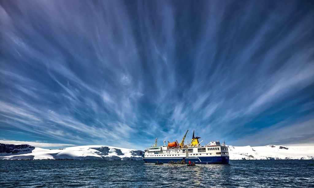 How to Choose the Best Antarctica Ship for Your Cruise to the 7th Continent. Photo credit: Ruslan Eliseev