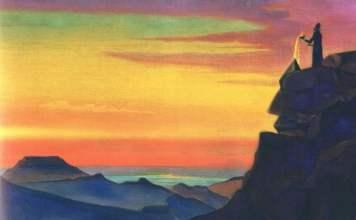 Zarathustra o Zoroastro por Nicholas Roerich
