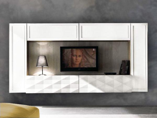 Le pareti attrezzate modern in laccato opaco per arredare la zona giorno ti aspettano! 10 Antego