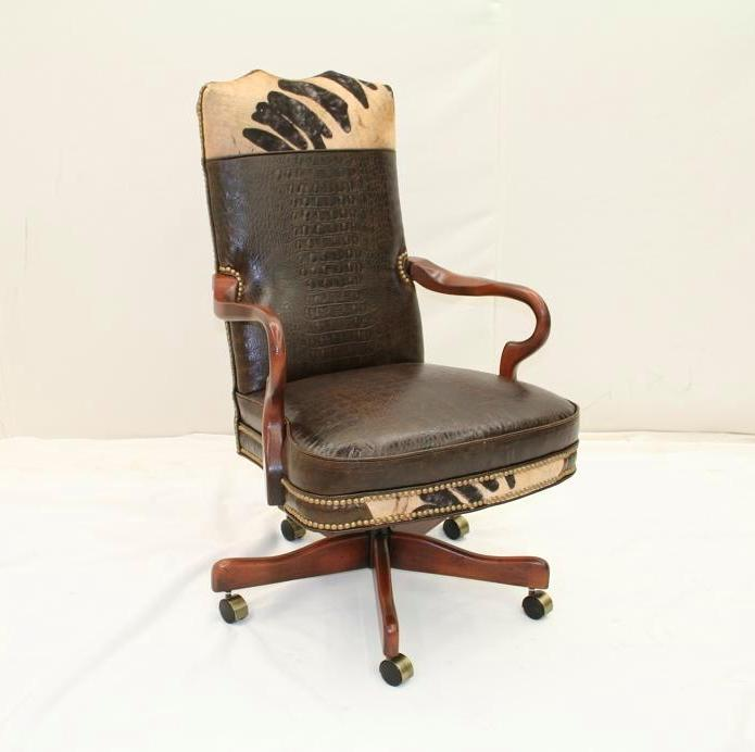 desk chair made folding tables and chairs set rustic western office